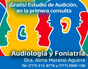 Dra. Alma Moreno, Audiología y Foniatría